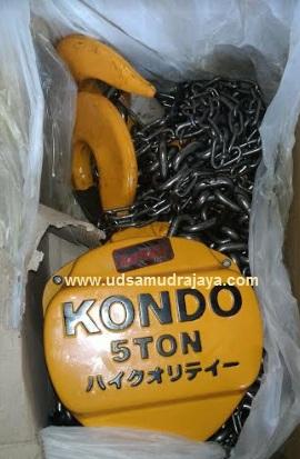 jual chain block kondo 5 ton