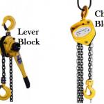 Perbedaan Chain Block Dan Lever Block Yang Harus Diketahui