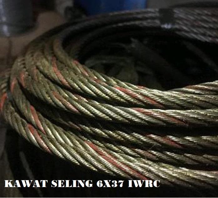 Jual Kawat Seling 6 x 37 IWRC Bersertifikat